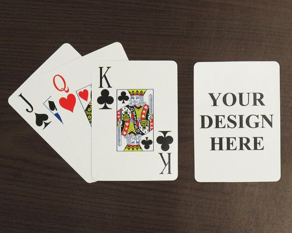 Personalized Playing Cards Poker By PrinterStudio