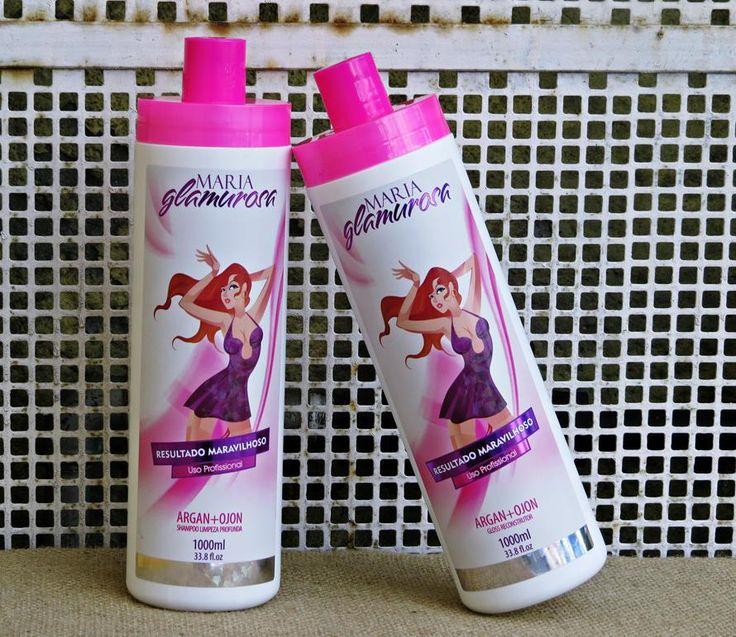 A Maria Glamurosa é uma escova progressiva feita para todos os tipos de cabelos. Que alisa e alinha cabelos crespos, cabelos enrolados, cabelos cacheados e cabelos volumosos desde a primeira aplicação.