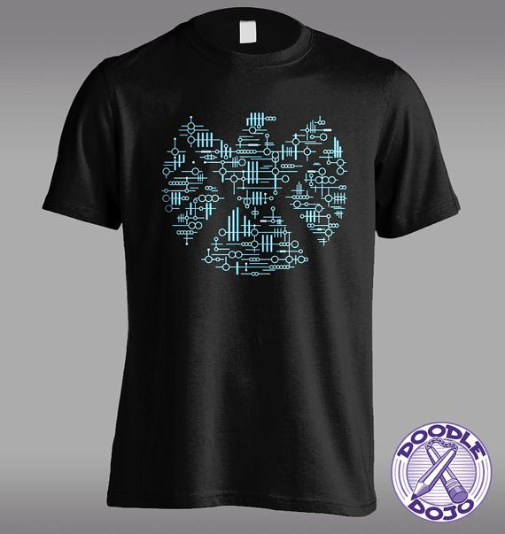 Alien Agents - Agents of Shield Tshirt by DoodleDojo on Etsy #agentsofshield #kree #geek