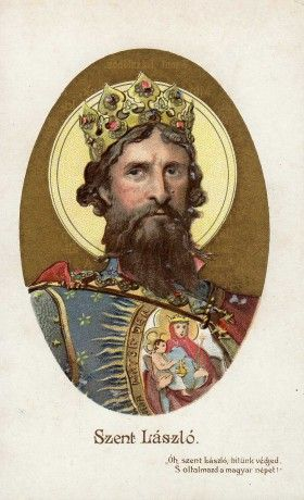 I. Szent László, Árpád-házi magyar király (uralkodása: 1077-1095)