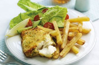 Slimming World fish and chips
