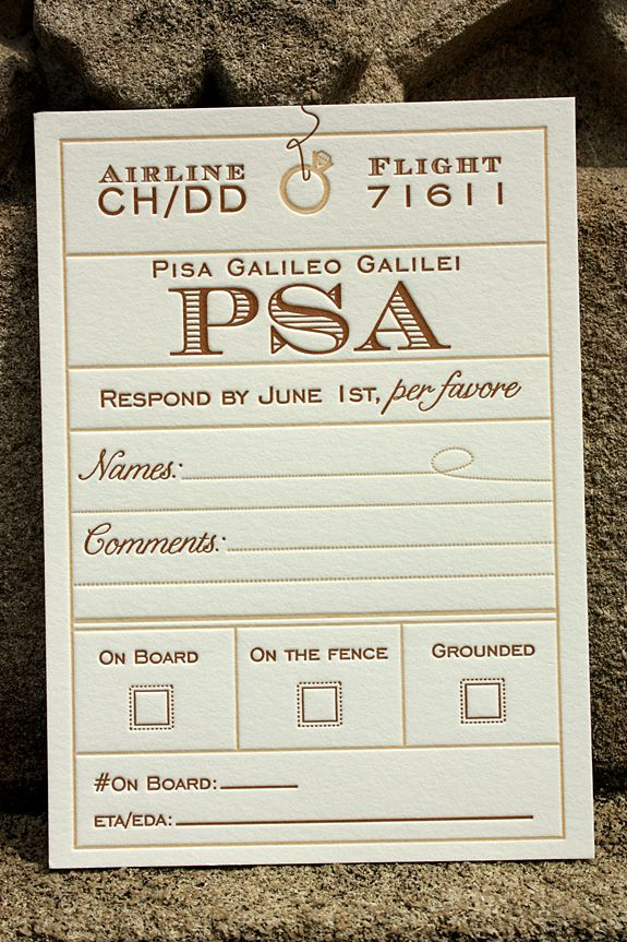 proper response time for wedding rsvp%0A VintageInspired Invitations for a Destination Wedding in Italy
