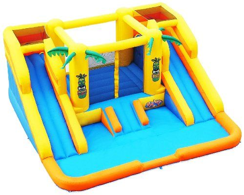 Blast Zone Rainforest Rapids Inflatable Bouncer With Slides By Blast Zone, 2015 Amazon Top Rated Inflatable Bouncers #Toy