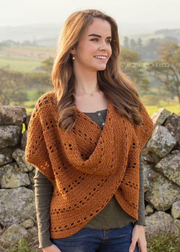 Hopeful Honey | Craft, Crochet, Create: Cinnamon Roll Pullover Sweater - Crochet Pattern + Giveaway