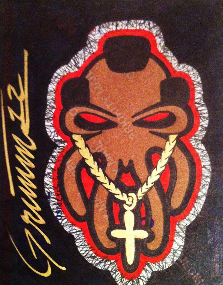 Sasquatch squatch bigfoot legendary legend yeti stickerart stickerartist labelart sharpieart sharpie theartistgrimm grimm artist art