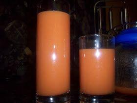 Recopilatorio de recetas thermomix: Zumo de manzana, fresa y naranja en thermomix