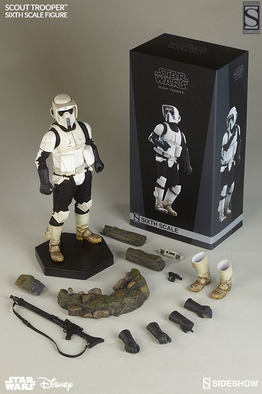 STAR WARS Scout Trooper and Speeder Bike Action Figure Review - Sideshow Collectibles