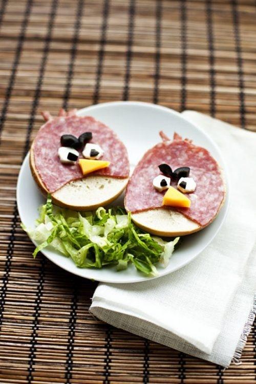 Angry biirds (>.<) #fun #snack #diy