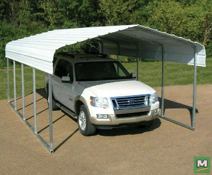 VersaTube 20 ft. W x 20 ft. L x 7 ft. H Steel Carport