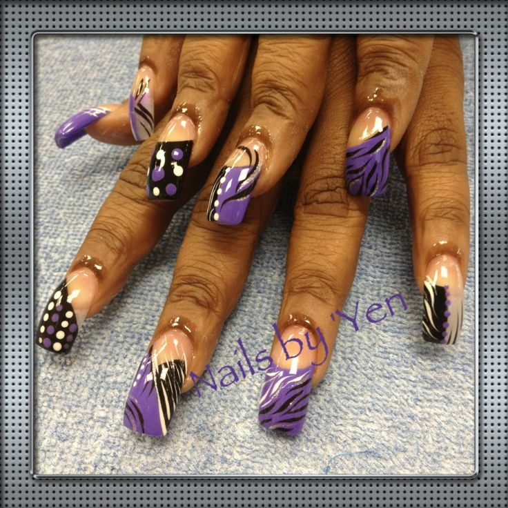 Hand Painted Nail Art Designs: 20+ Best Ideas About Zebra Nail Designs On Pinterest