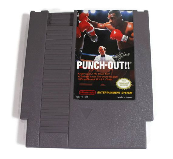 Mike Tyson's Punch Out Nintendo NES 1987 Retro by Retro8Games
