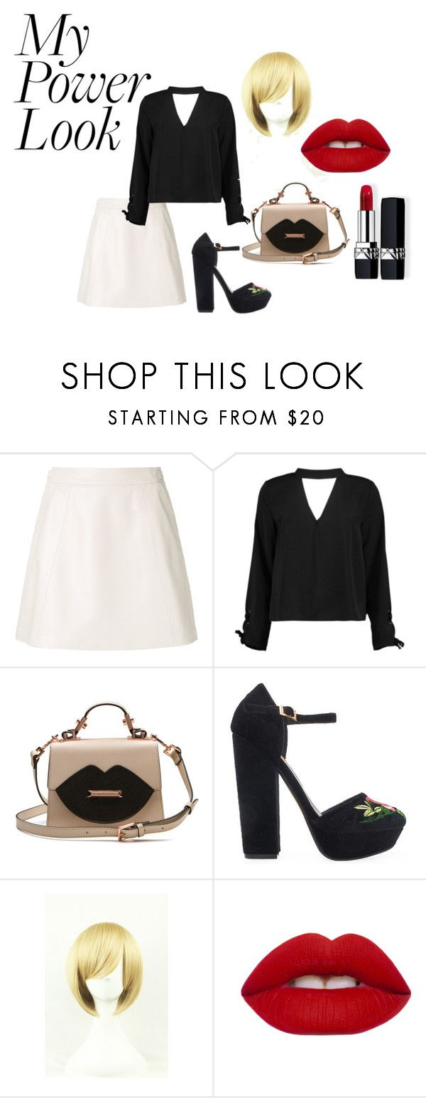"""""""Night Out In NY"""" by mandalinaqitrydewi on Polyvore featuring Loveless, Boohoo, Privileged, Lime Crime and Christian Dior"""