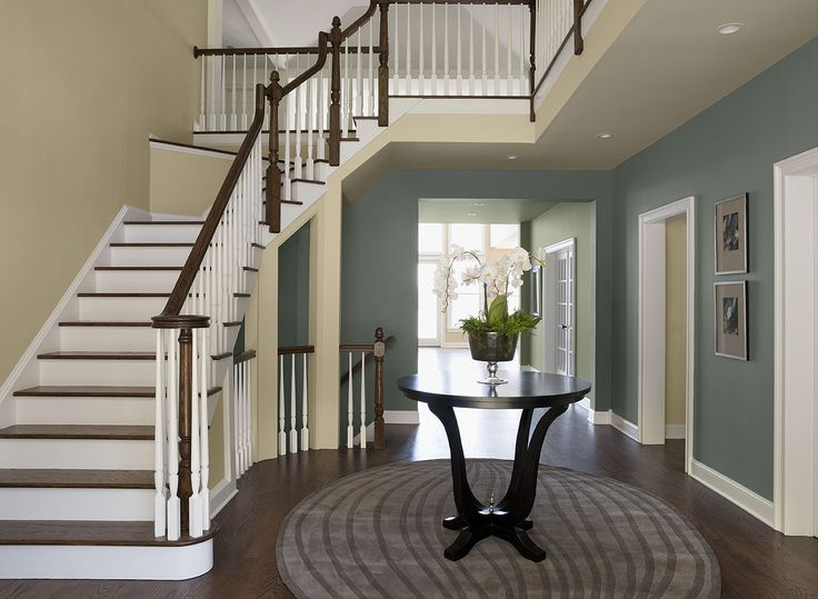 Tan Foyer Colors : Interior paint ideas and inspiration colors grey