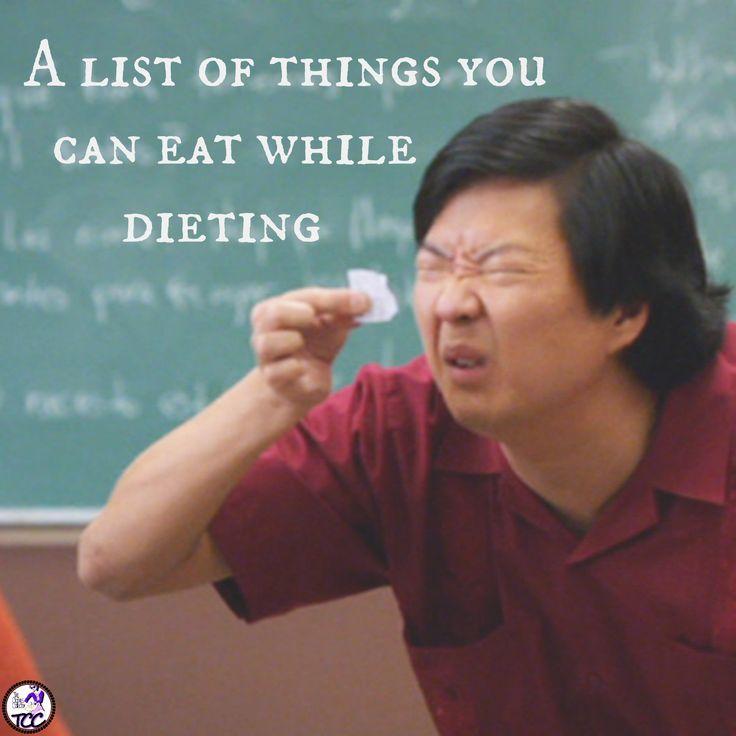 Dieting...