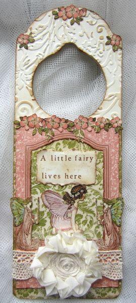 Fairy door sign for a little girl 39 s room really love the for Signs for little girl rooms