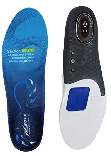 068ba79c44 XSOLE Plantar Fasciitis Feet Insoles Arch Supports Orthotic Inserts Relieve  Flat Feet, Arch Pain, Heel Pain and Ankle Pain Review