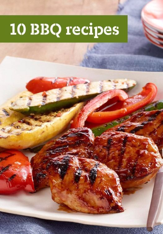 10 BBQ Recipes – Firing up the grill for an easy dinner is just what you're looking for in the middle of the summer.