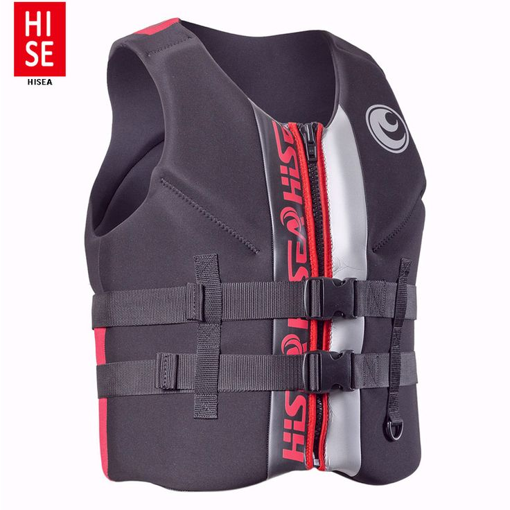 Men's Surfing Vest Adult Water Sport Safety Boating Life Vest Foam Flotation Swimming Life Jacket Buoyancy Vest Snorkeling Vest #Affiliate