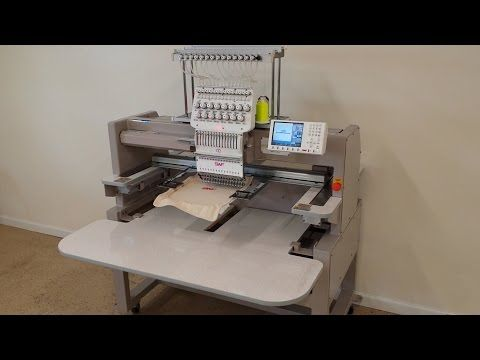 SWF Embroidery Machines - YouTube