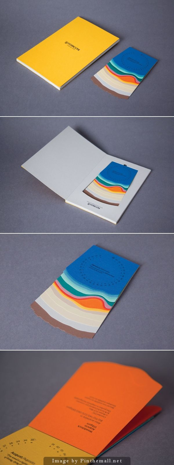 Fedrigoni Desk Calendar 2015 by Christopher Hoare