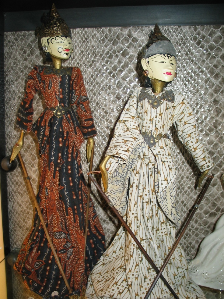 Burmese Royal Marionettes - on ebay