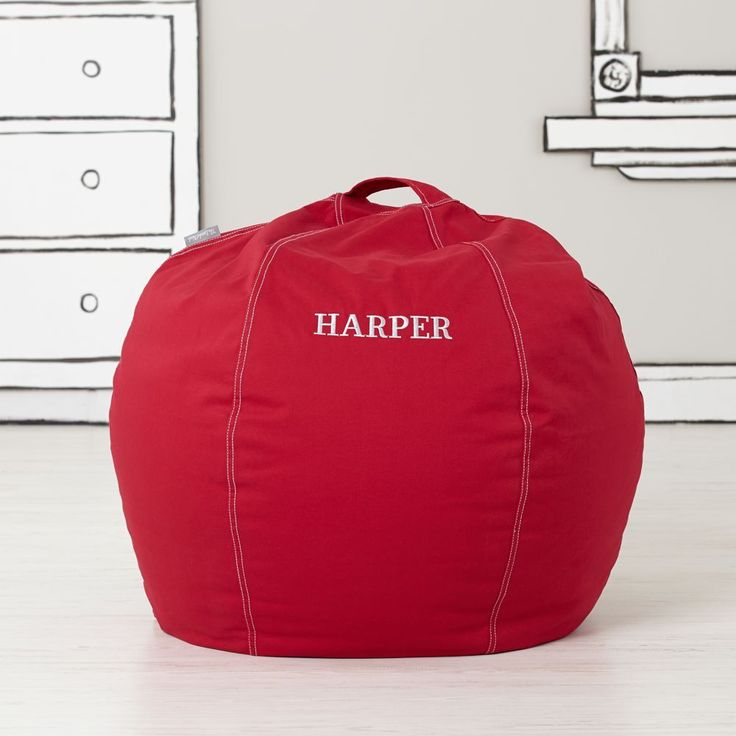 17 Best ideas about Red Bean Bag – Personalized Bag Chairs