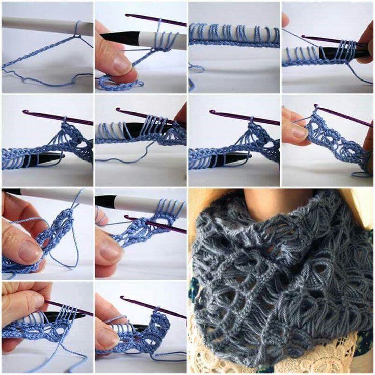 Contemporáneo Los Patrones De Crochet Libre De Palo De Escoba Viñeta ...