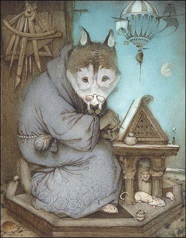 ~Cyril Chelushkin    Kirill B. Chelushkin.  Cyril is a Russian fantasy illustrator.