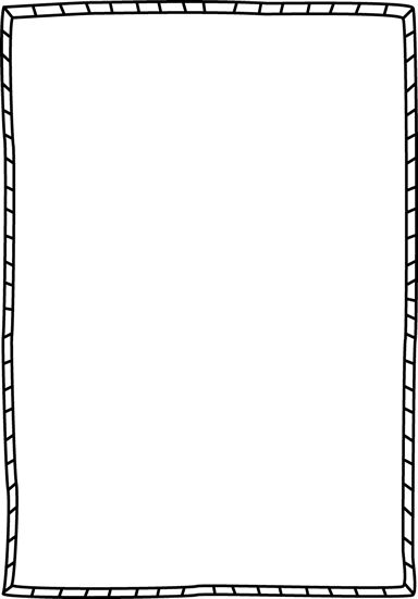 Striped Double Border - Free Page Borders