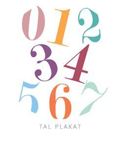 printable numbers