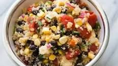 Mexican Quinoa Salad with Black Beans, Corn, and Tomatoes Recipe | SimplyRecipes.com