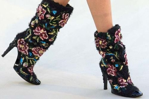 Love these Chanel Boots