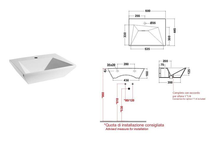Olympia Crystal umywalka 60x44 09KR - Umywalki - wyposażenie wnętrz Max-Fliz