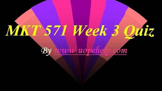 Working with MKT 571 Week 3 Quiz UOP HomeWork Help may seem difficult until you are the part of http://www.UopeHelp.com/ . Be and part and know the difference in your grade