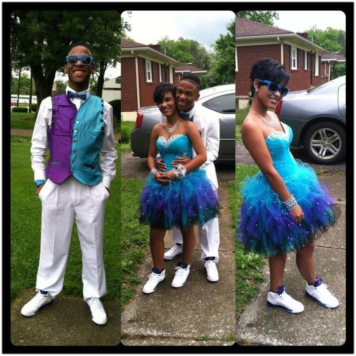 This IS So Dope!! Wearing JordaNs to Prom!! | u00b0Couples/RelationshipQuotesu00b0 | Pinterest | So ...