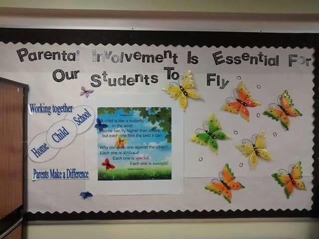 Parent Resource Center Bulletin Board