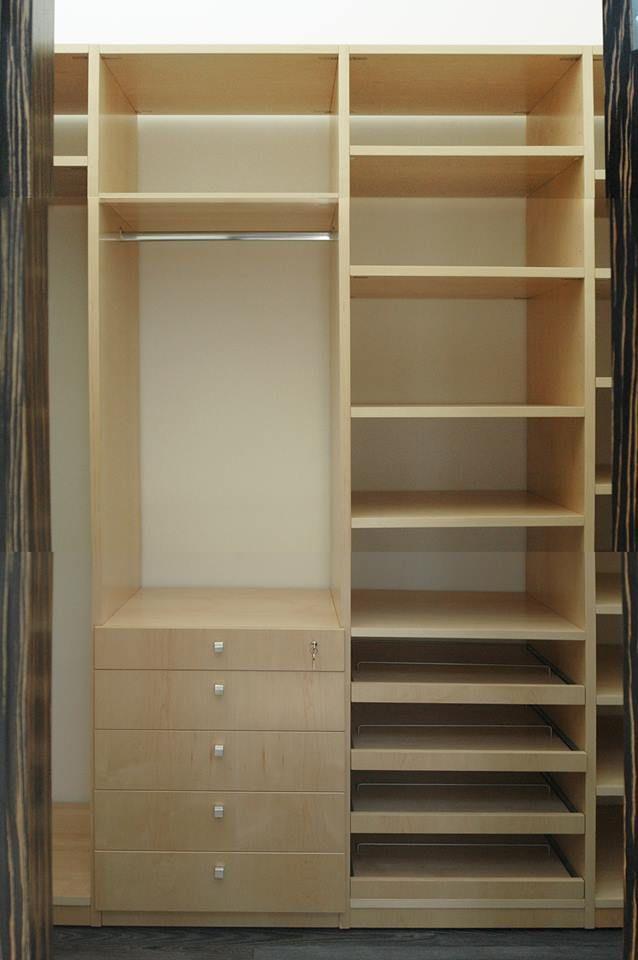 Tenemos closets a la medida de tus necesidades.