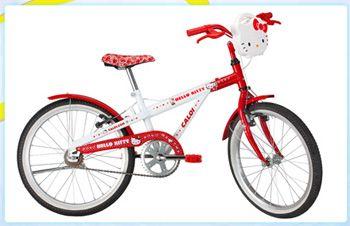 Caloi lança bike da Hello Kitty - http://bagarai.com.br/caloi-lanca-bike-da-hello-kitty.html