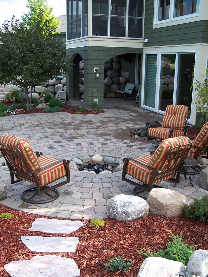 112 Best Images About Inground Firepits On Pinterest