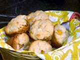 Paula Deen ~ Peaches & Cream Muffins (these are amazing)