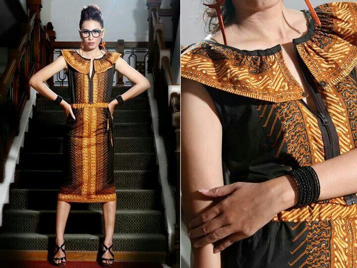 hfgh - beautiful Indonesian batik dress