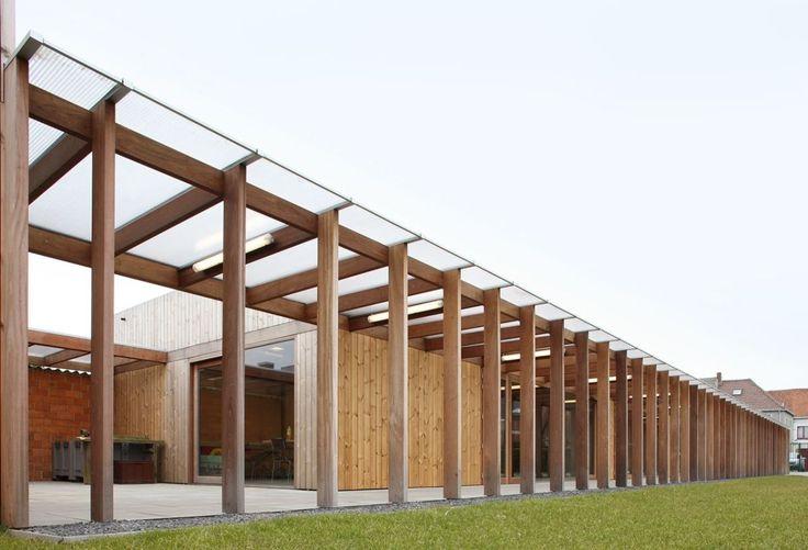 urbain architectencollectief, Filip Dujardin · studio spaces for people with disabilities