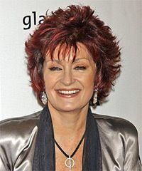 Sharon Osbourne Hairstyle: Formal Medium Straight Hairstyle