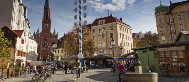Wiener Platz in Munich Haidhausen