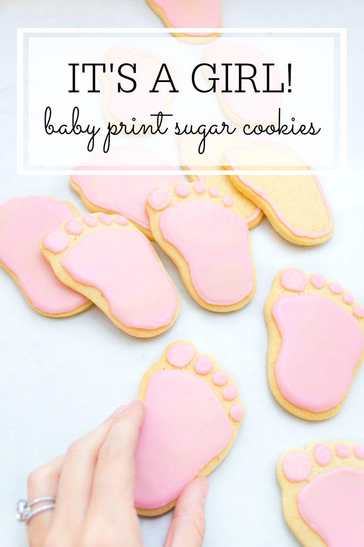 Foot Print Sugar Cookies 20