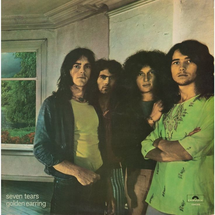 """Golden Earring, Seven Tears**** (1971): Golden Earring has been a pretty interesting band to listen to during this project. As they have matured, they have gotten a bit heavier... but they've also gotten a bit more proggier. Check out """"The Road Swallowed Her Name"""" and """"She Flies on Strange Wings"""" to hear what I mean. And I like the directions they are heading in. (6/27/14)"""