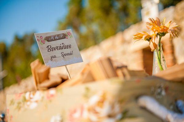 Ρομαντικος γαμος στο κτημα Αριαδνη | Ρια & Νικος  See more on Love4Weddings  http://www.love4weddings.gr/gamos-ktima-ariadni/