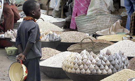 Food safety: train smallholders to improve processing at farms: Lack of food safety awareness leads to contaminated staples, such as groundnuts, being bought and consumed in largely informal markets in many countries in Africa. Photograph: Issouf Sanogo/AFP/Getty Images