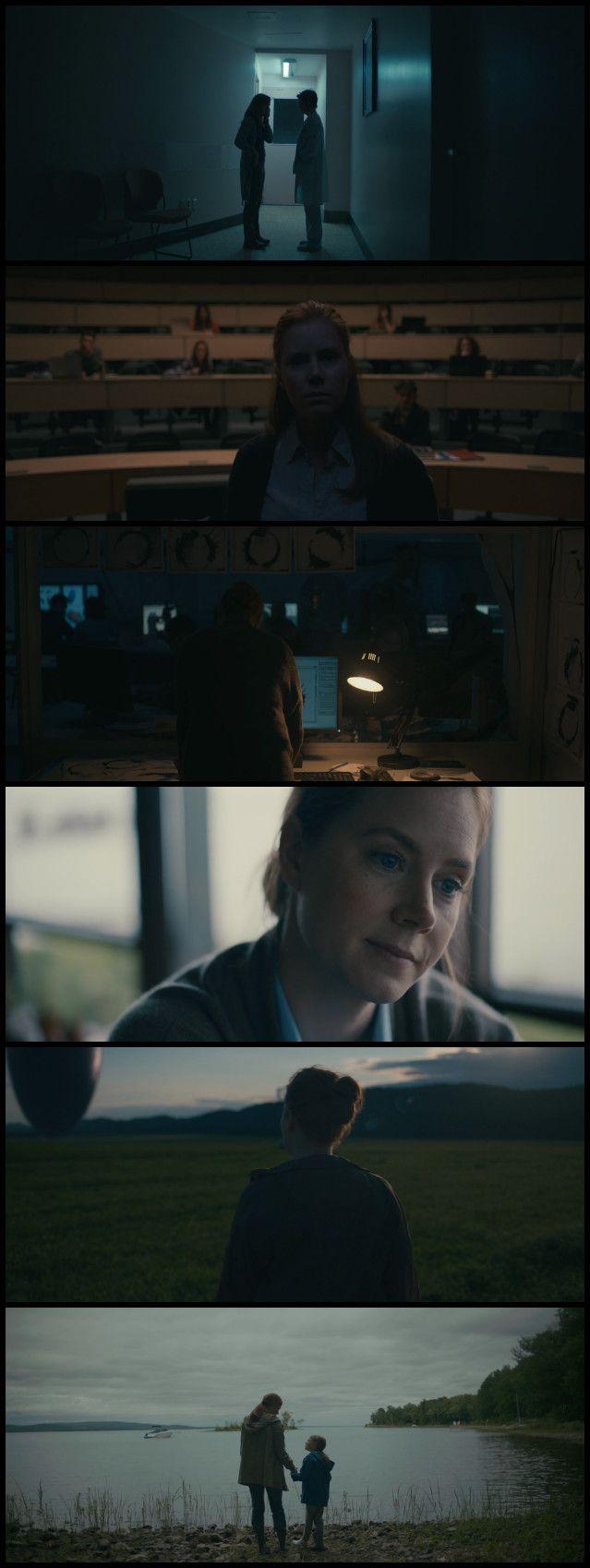 Arrival (2016) Director: Denis Villeneuve. Photography: Bradford Young.