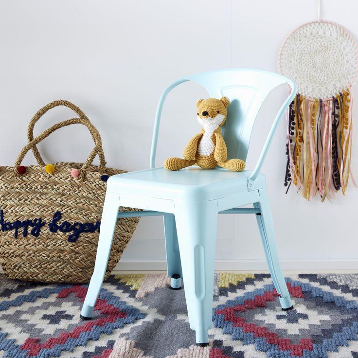 VERTBAUDET - Cette jolie chaise pastel au design ultra tendance donne de la douceur à la déco de chambre de votre enfant !